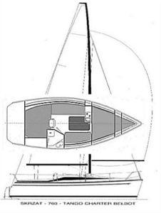 Jacht Tango Czarter